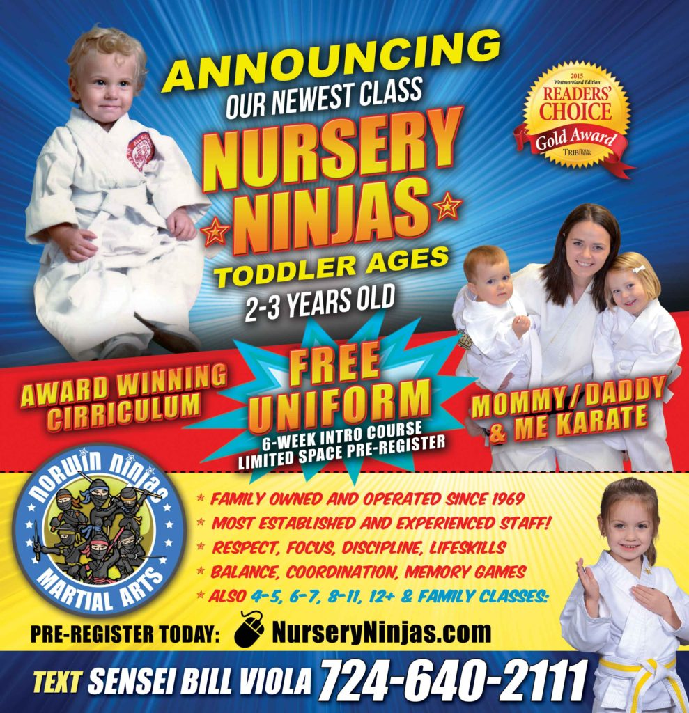 nursery ninjas 2-3 year olds