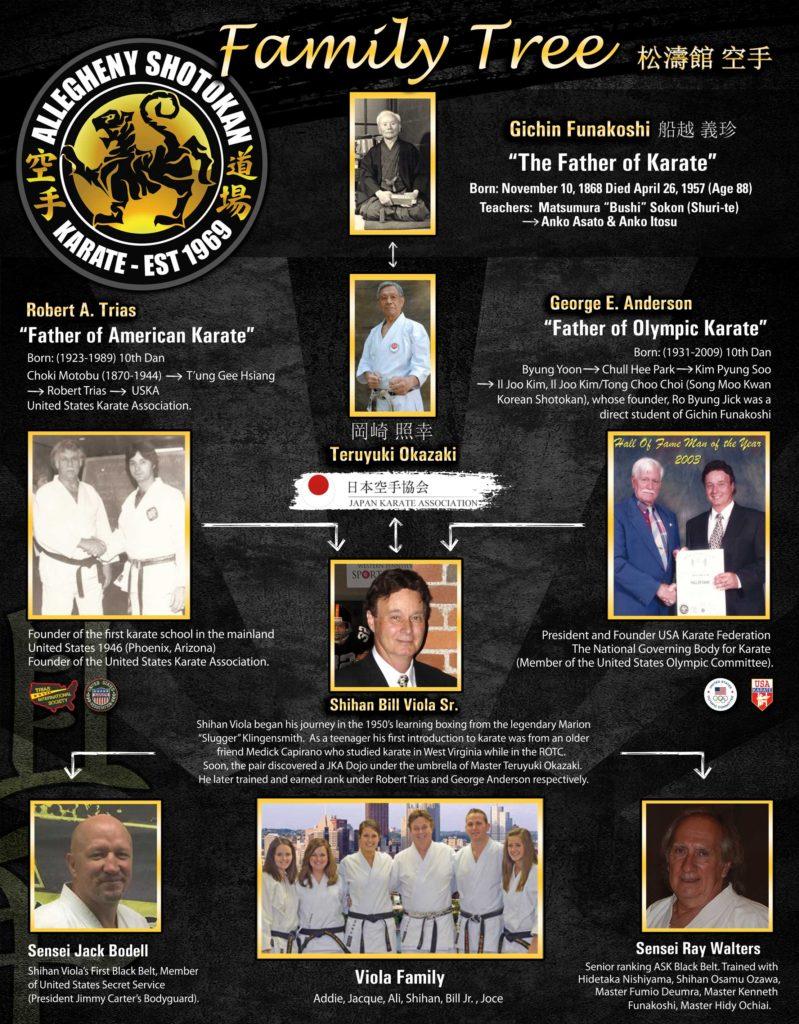 viola karate lineage