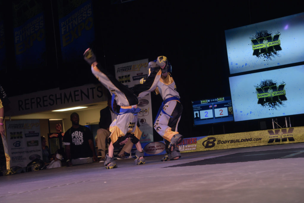 Cartwheel kick xander Eddy