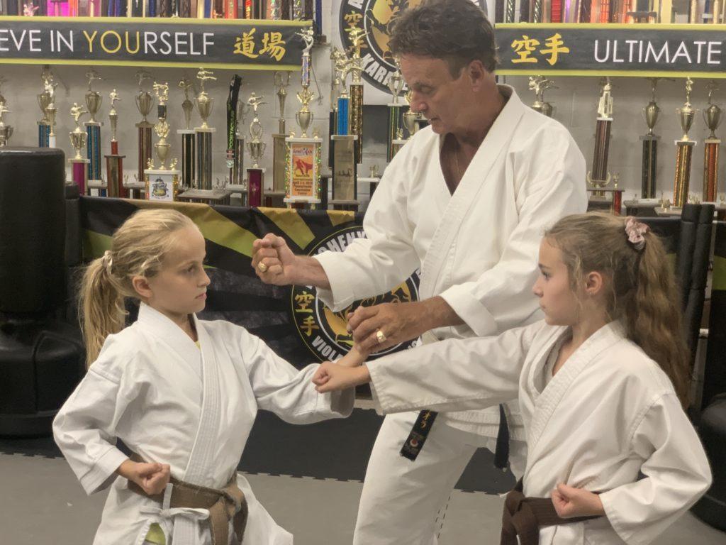 Gabby Viola karate
