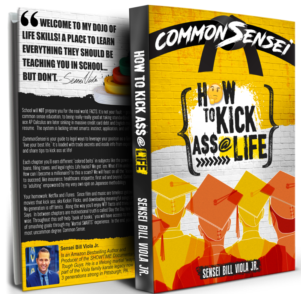 commonsensei how to kick ass at life